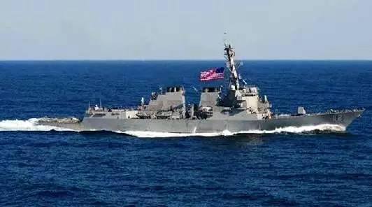 论美舰入南海周边12海里巡航