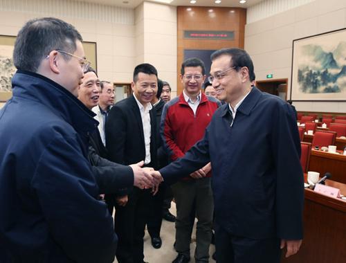 李克强鼓劲儿中国经济:充满信心