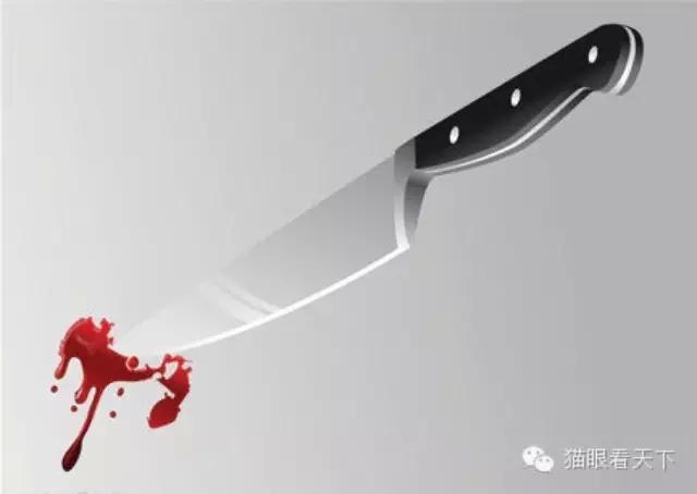 中国警察,当心你背后捅来的刀!