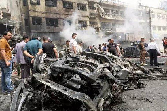伊拉克首都发生自杀式爆炸袭击 致10人死亡