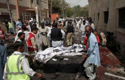 巴基斯坦医院遭袭至少70人亡