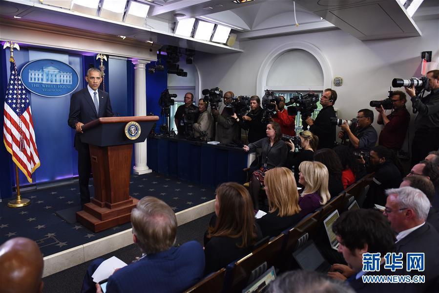 奥巴马说特朗普将继续履行美国对北约的承诺
