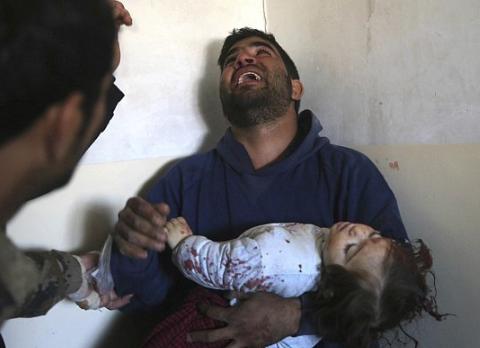 15月大女婴被IS炸死 炮弹击中脑袋当场死亡