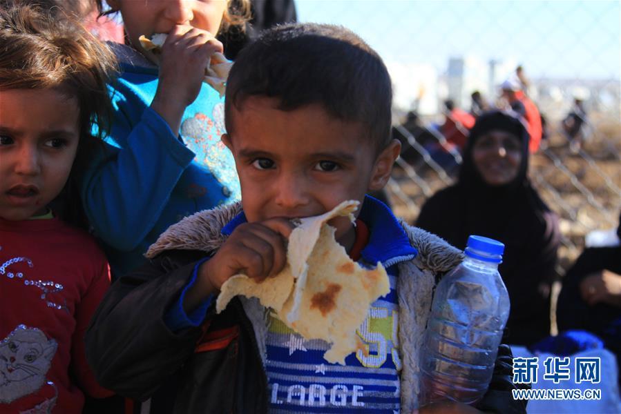 伊拉克2万余名平民因战乱逃离家园