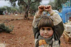 """阿勒颇7岁女孩推特记录""""战场童年"""" 引关注"""