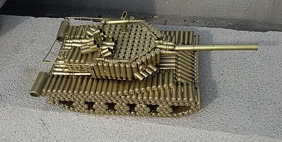 自制黄金坦克亮瞎眼