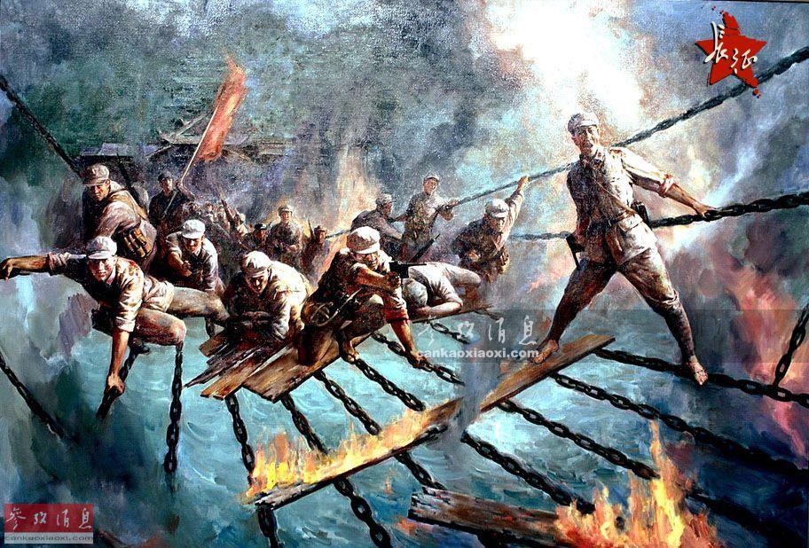 红军飞夺泸定桥靠与军阀达成默契?