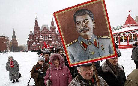 中苏两国矛盾肇始:是否悬挂斯大林像?