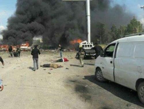 叙利亚阿勒颇遭爆炸袭击致38人死伤