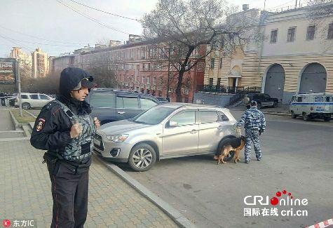 俄联邦安全局哈巴罗夫斯克边疆区分局遇袭