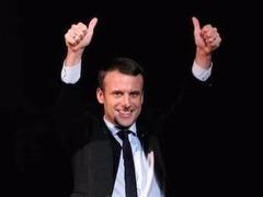 马克龙正式就职 成法国近60年来最年轻总统