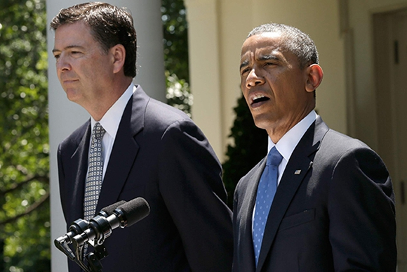 """美国FBI局长詹姆斯・科米有什么""""黑历史""""?"""