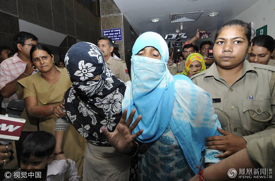 印度发生恶性强奸案