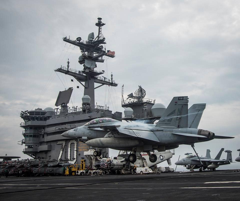 美上将称美军需更多舰队与中俄竞争