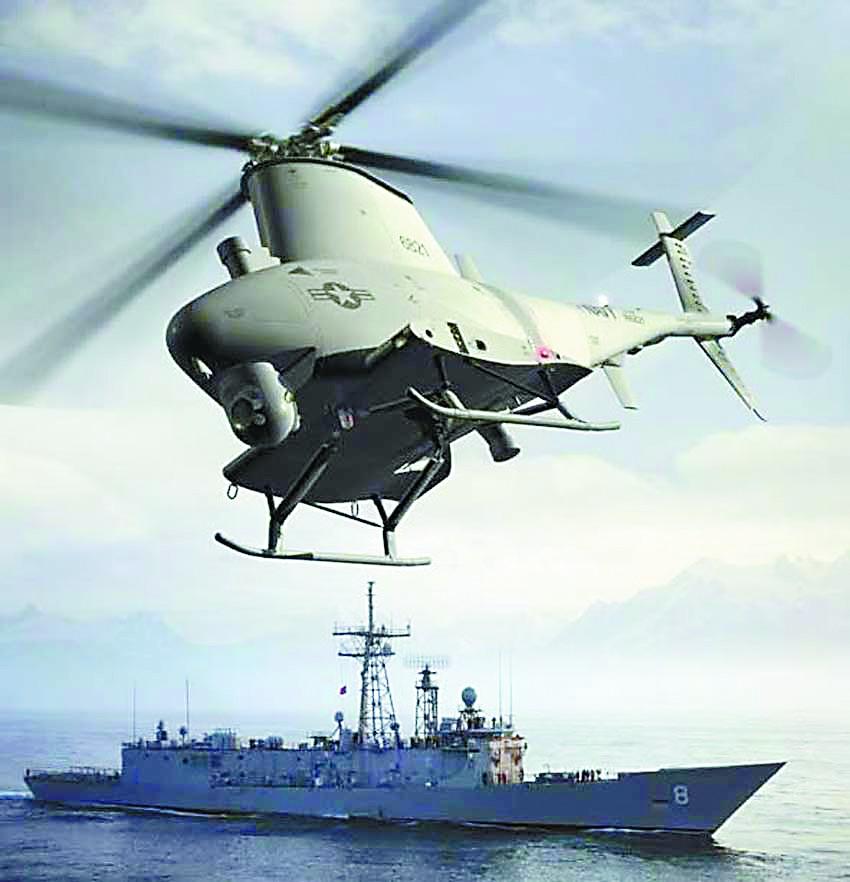 美军咋应对中国潜艇?无人机当反潜先锋