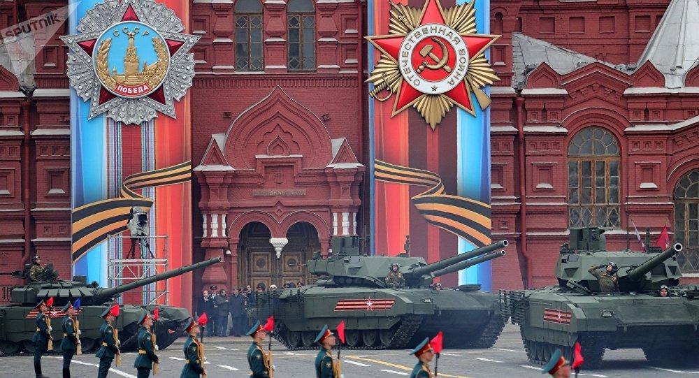 """俄""""阿玛塔""""坦克让驻欧美军担忧不已"""