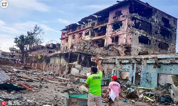 菲律宾马拉维战事至少174人死亡