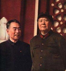 哪场战役是毛泽东与周恩来合作的起点?