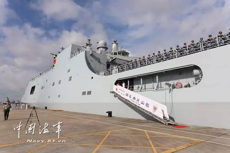 吉布提基地支持中国海军走得远但也别夸张它