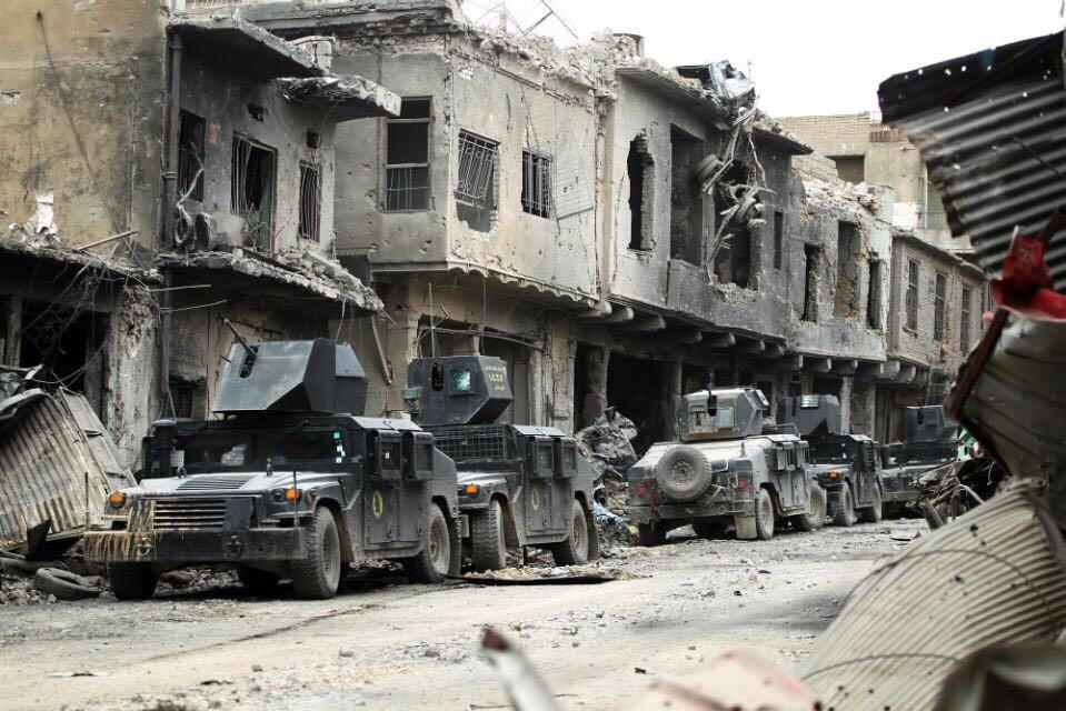 伊拉克摩苏尔全城解放,哪里还有城?