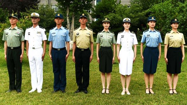 中国军人,就要戴符合中国军人精神的军帽