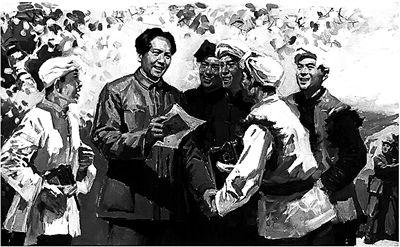 几张报纸,让毛泽东找到红军重生圣地