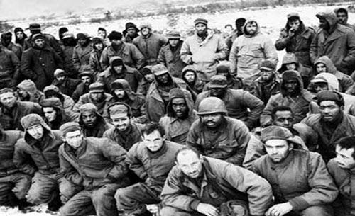 """朝鲜战争后,22名英美战俘""""叛国"""""""
