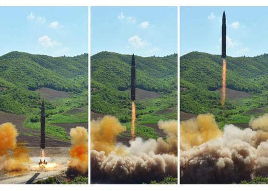 朝称正考虑通过导弹对关岛周边进行包围射击