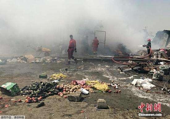 伊拉克南部遭遇袭击 导致至少50人死亡