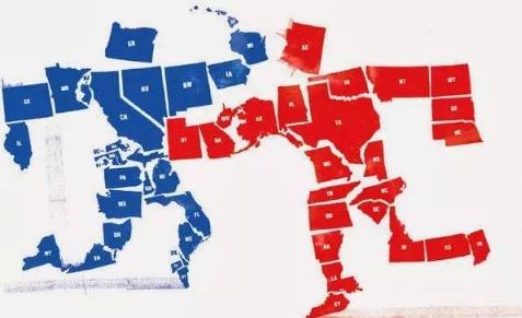 民调显示美国政治分裂扩大至多领域