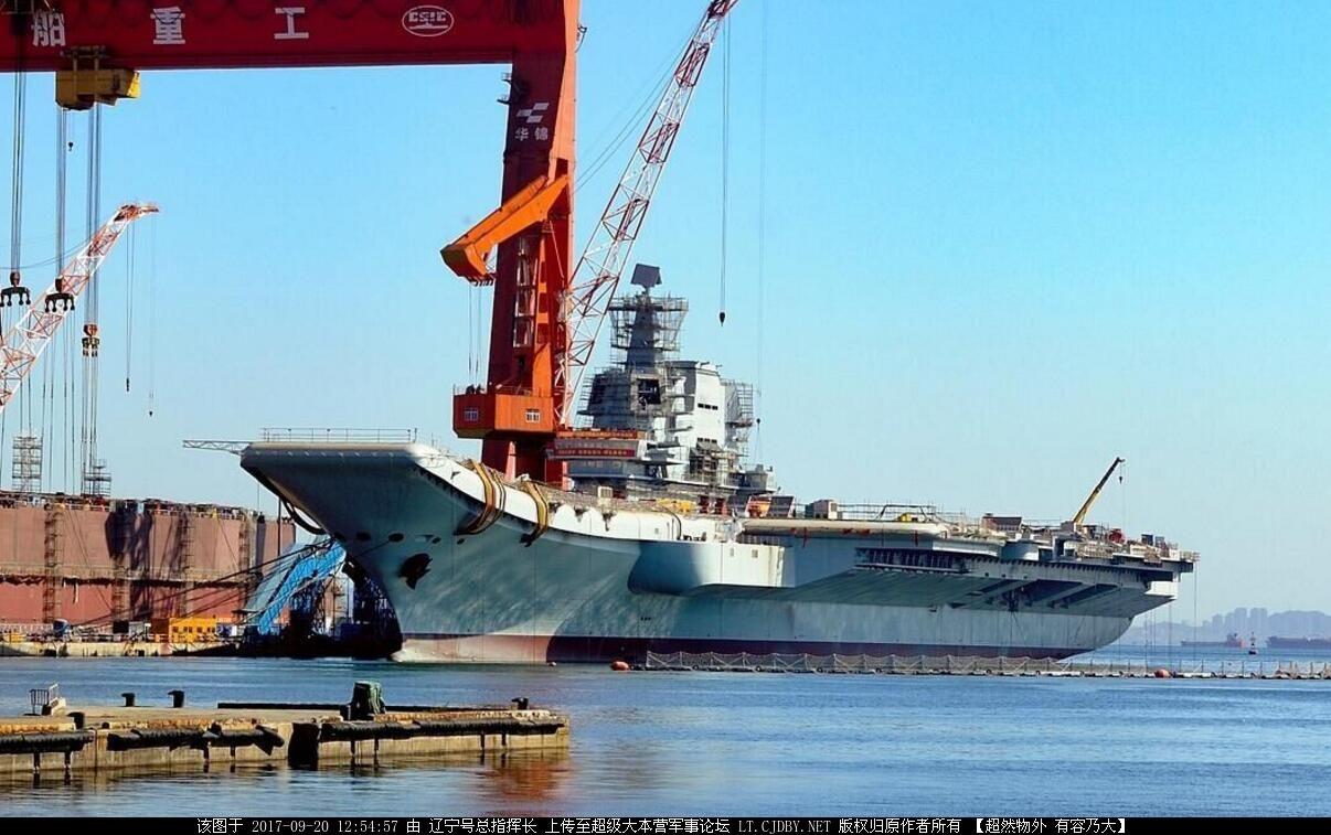 国产航母装雷达引发猜想最快年底进行海试