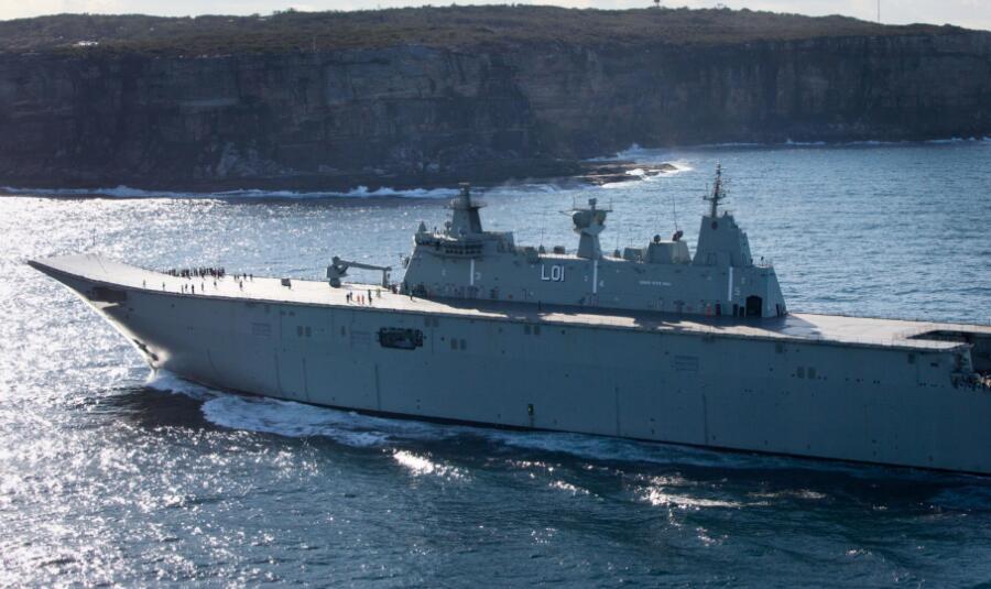 澳大利亚海军尽出来南海吓唬人还是争宠?