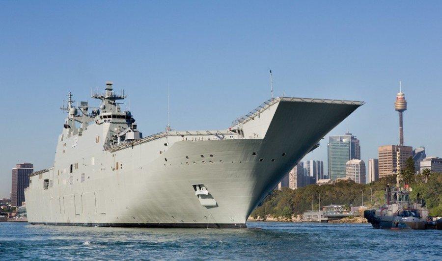 澳大利亚军舰进南海须悠着点 别�浑水