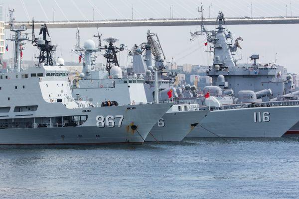 中国军舰在大洋频露面 一点让美国头痛