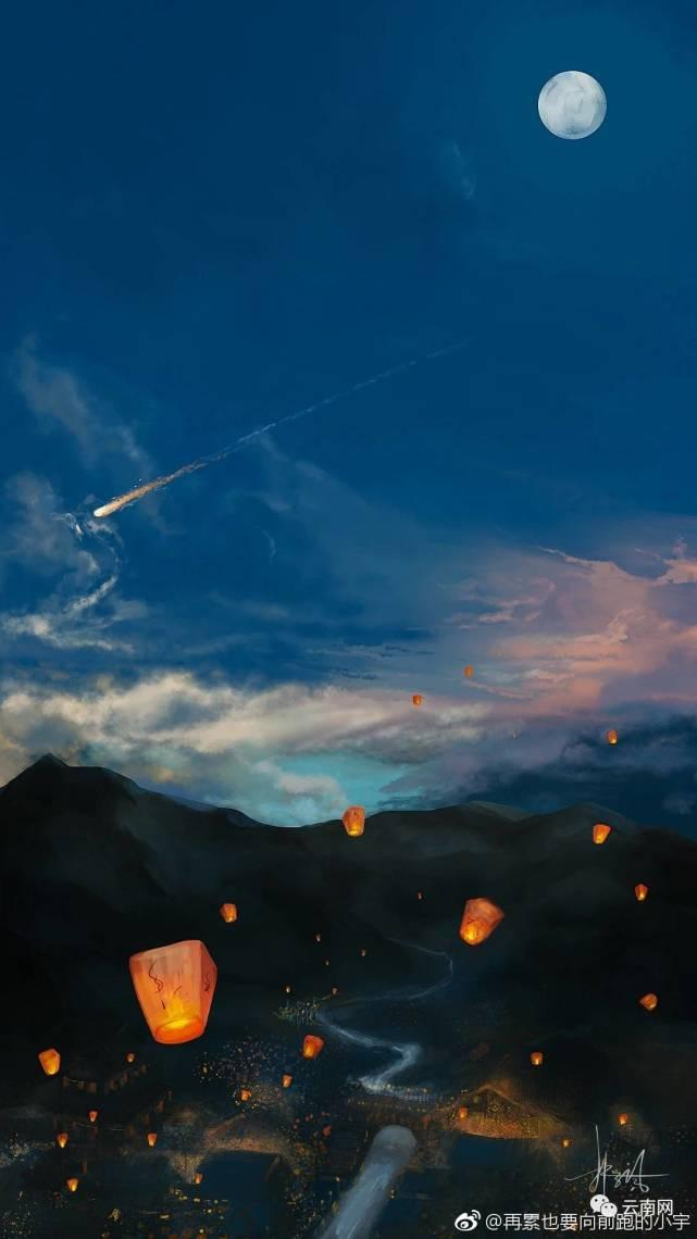 陨石中秋夜掉落云南