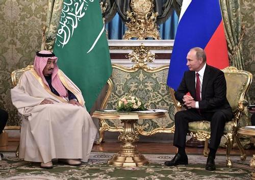 """沙特俄罗斯从""""宿敌""""变""""哥们"""" ?"""