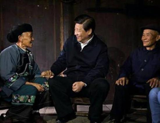 """习近平夯实""""中国根基"""""""