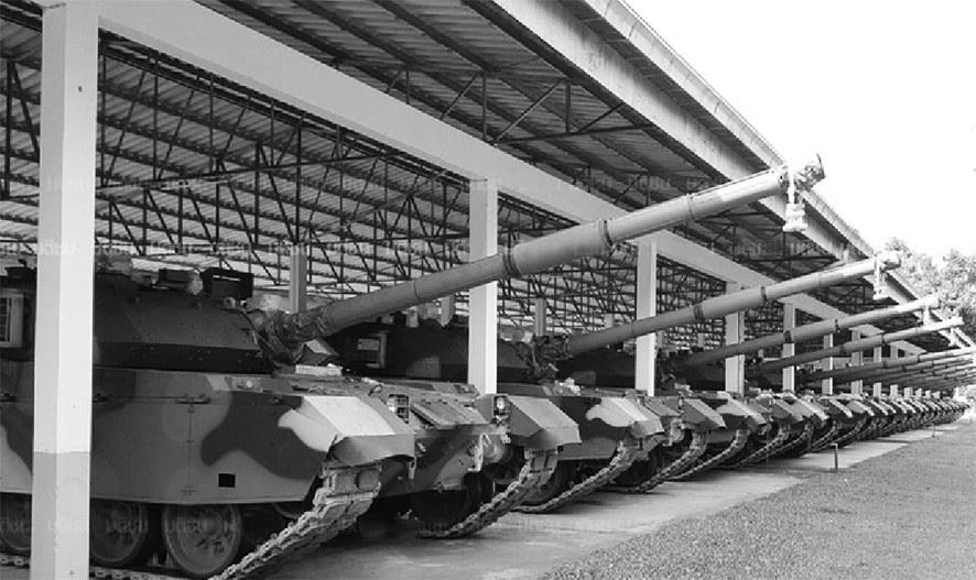 泰国接收首批26辆VT4坦克中方提前本年交货