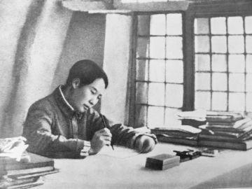 """毛泽东在""""抗大""""讲哲学"""