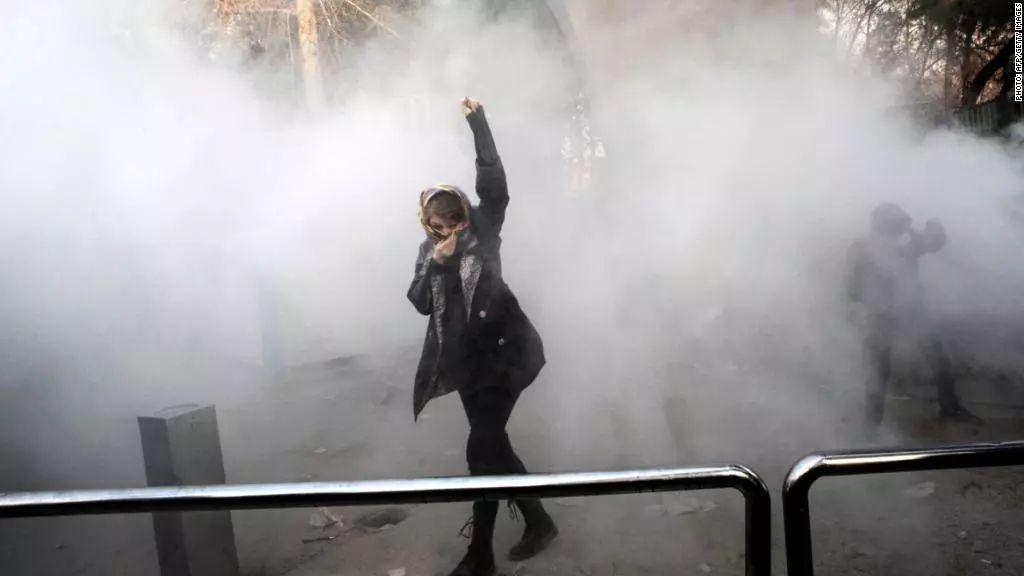 伊朗国内示威活动的美国因素