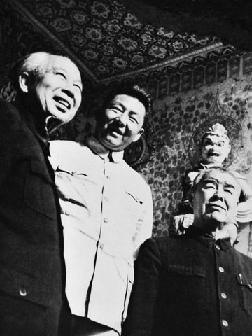 习仲勋与爷台山反击战:深入前沿阵地