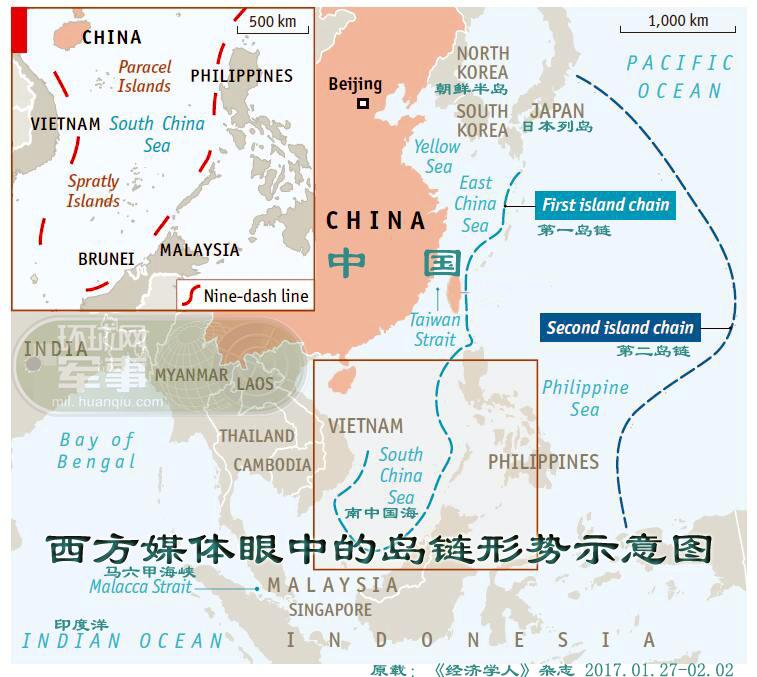 态势逆转!西方智库眼中的中国反介入形势图