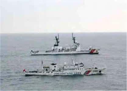 美国派海警到东北亚,太平洋成你的了?