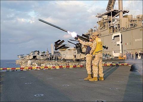 美国将交付250枚导弹给台湾 应对大陆M503