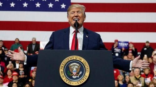特朗普公布2020年竞选口号:让美国保持伟大