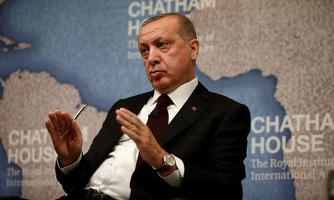 土耳其总统痛斥特朗普:世界被拉回二战前