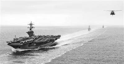 美重新恢复海军第二舰队建制