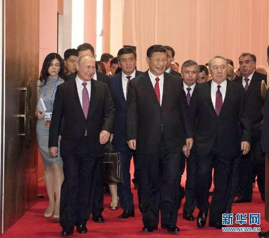 青岛峰会见证当今世界中国大势在握