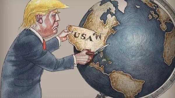终于,特朗普完成了搞乱西方的任务!