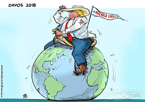 美国日益成为世界经济的破坏者